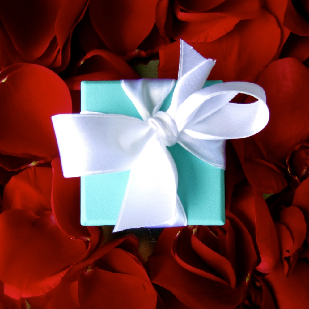 The Little Blue Box from Tiffany - What could be better?  This is how to propose on Christmas!