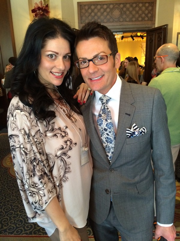 With Randy Fenoli, who is as lovely as you would possibly imagine.