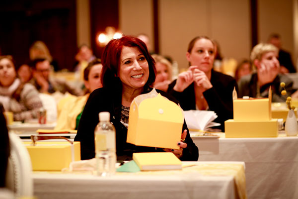 Iconic Wedding Planner Marcy Blum at Engage 13.  Photo by Chellise Michael Photography.