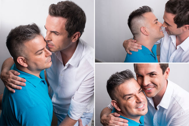 Gay Grooms Engagement Photos