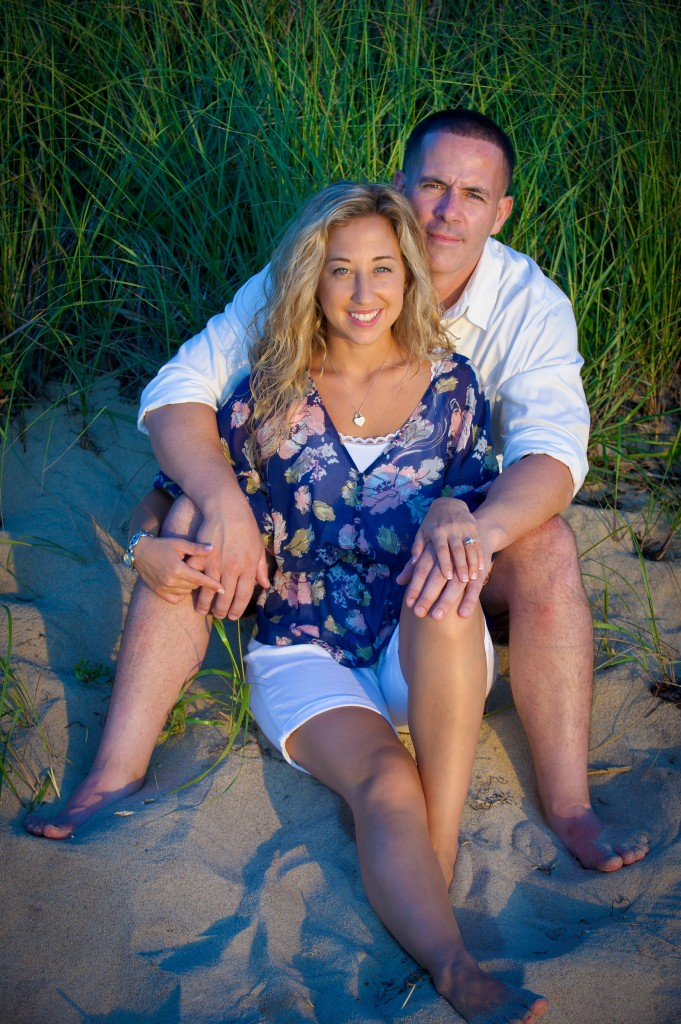 Lighthouse Photography photographed Bill & Heather on the beaches of Long Island.