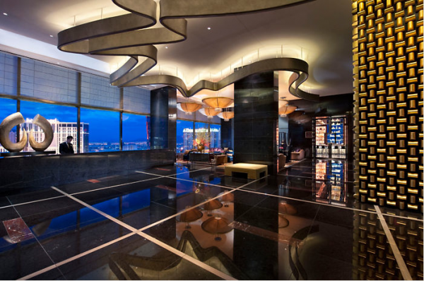 The Sky Lobby. Photo courtesy of Mandarin Oriental.