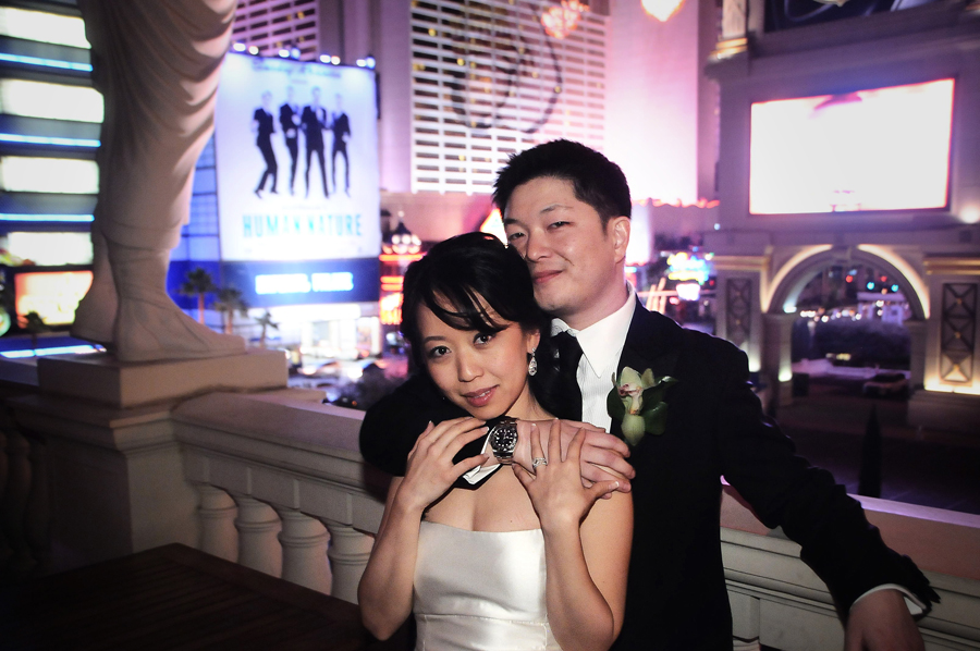 Congratulations Hisami & Mike.