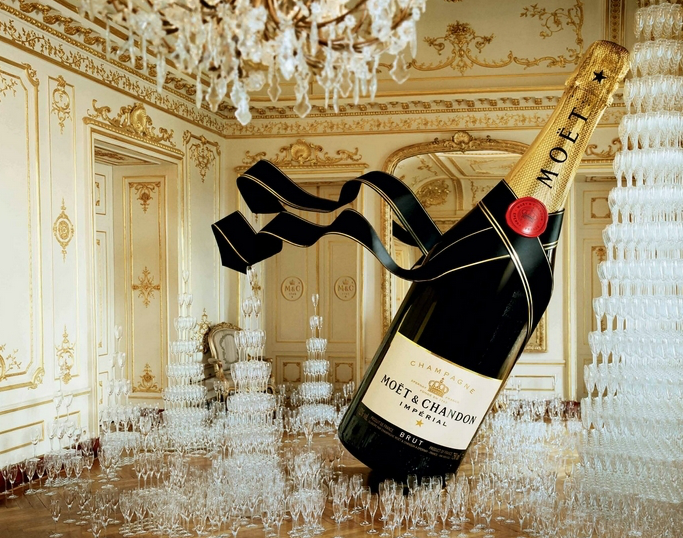 Nothing says celebration like champagne…