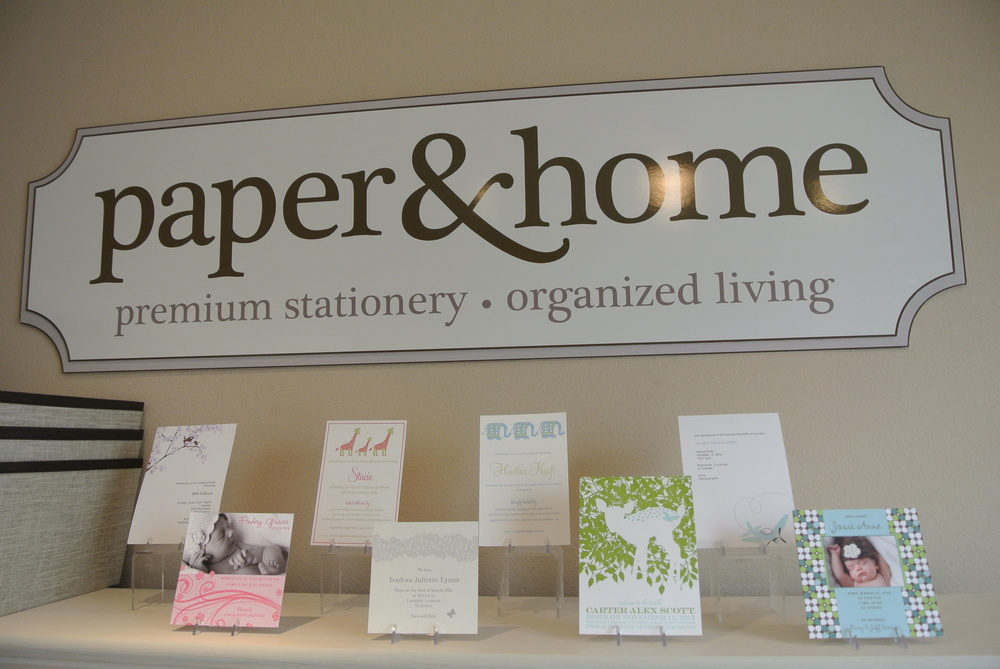 Paper & Home ~ Luxury Stationary in Las Vegas.