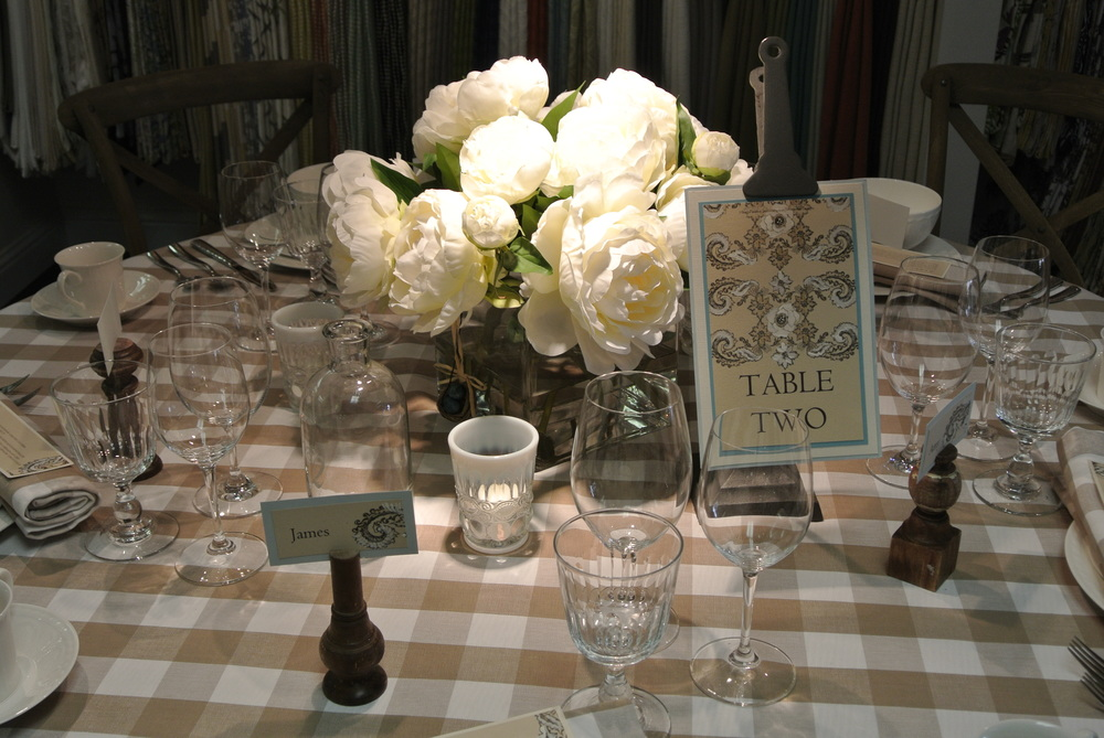 La Tavola boasts multiple tables set and dressed to inspire you.
