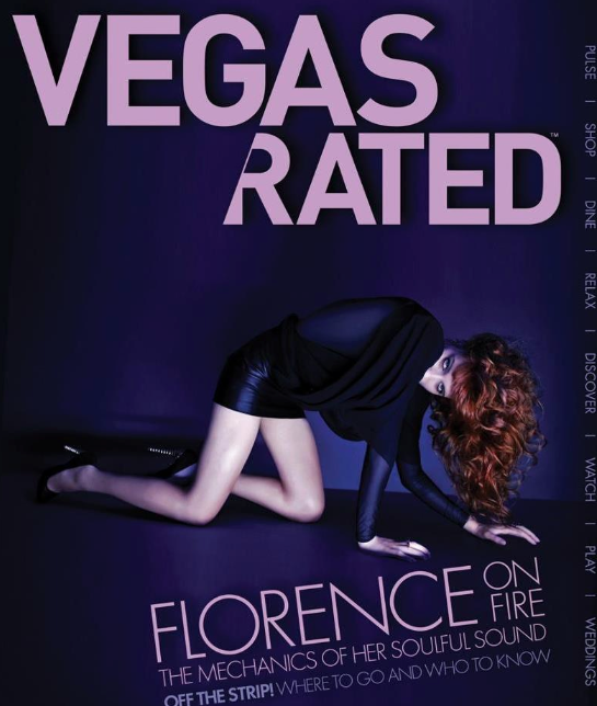 Vegas Rated Magazine Wedding Edition, April 2012