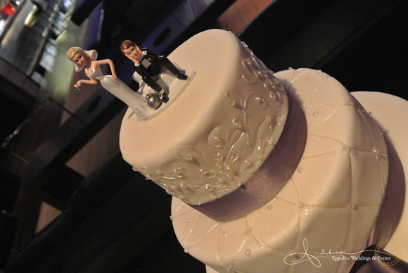 Just a little humor ~ Ball & Chain Cake Topper.