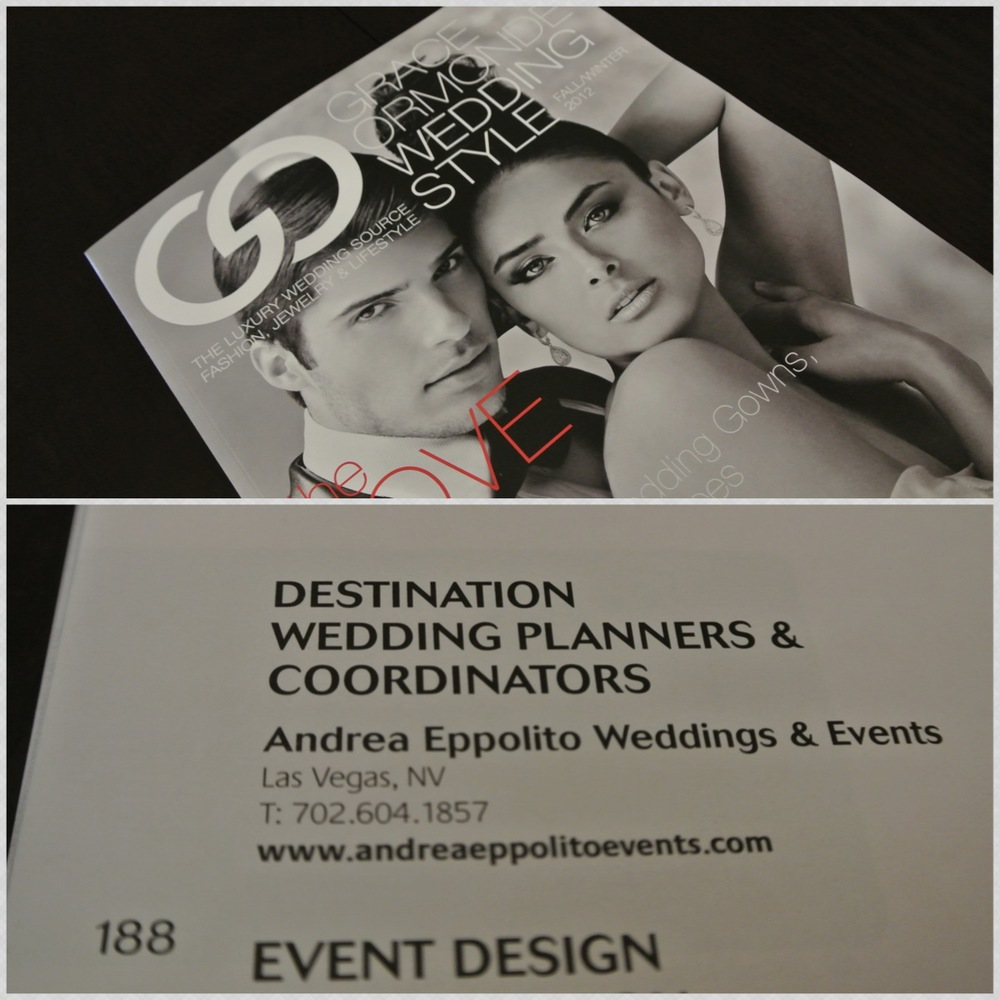 Wedding Style Magazine - See...There I am!