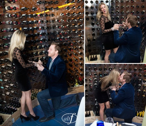 John Michael Cooper was on hand to capture the shocking proposal.