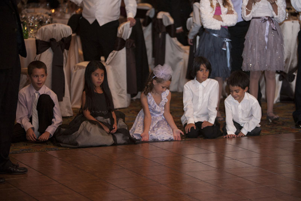 I love seeing kids at weddings! They always find everything so magical!  Photo by www.altf.com.