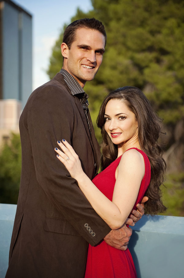 Lori & Brian asked thier friend, photo enthusiast Raylene Strauber, to snap their engagement photos in Tucson, Arizona.