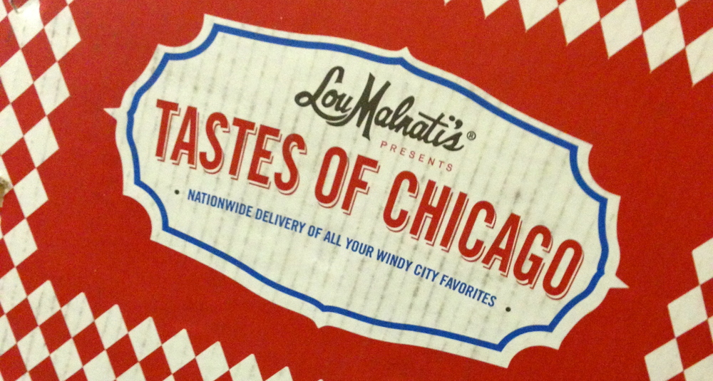 Awesome gift from my Chi-town couple getting married at Bellagio in March 2012!  Lou Malnatis Tastes of Chicago was delivered right to my door!