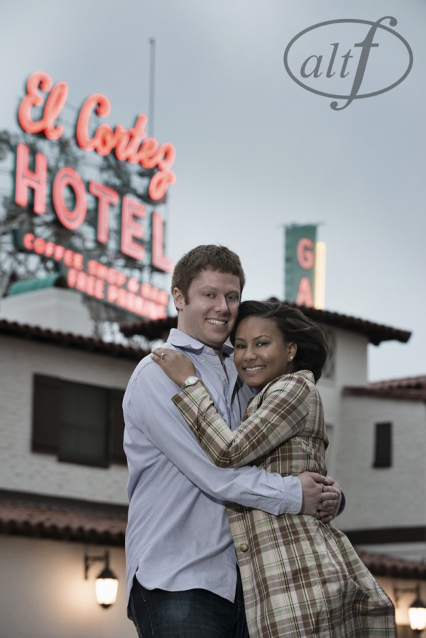 Engagement Photos in Downtown Las Vegas.