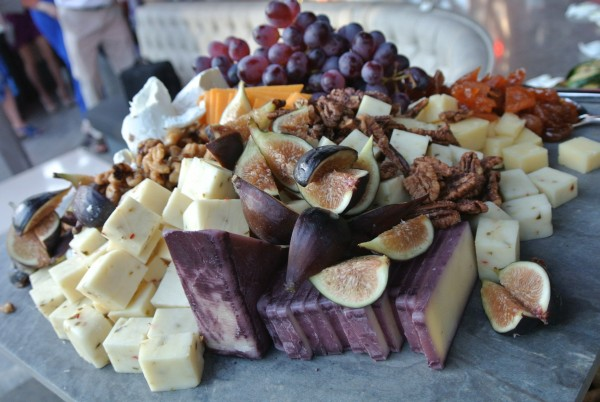 The premium Fruit & Cheese Display was gorgeous, colorful and delicious! Photo by Andrea Eppolito.