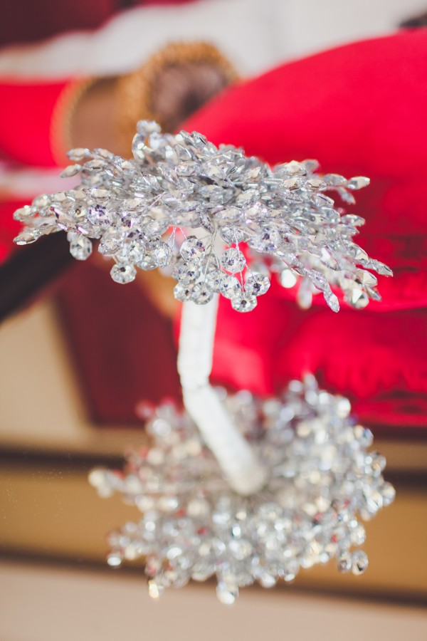 Swarovski Crystal Bouquet. Bouquet by Ky. Photo by Adam Trujillo.