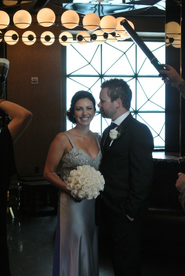 Jacki & Phil - Behind the scenes photos from their summer wedding at the Hard Rock Hotel.