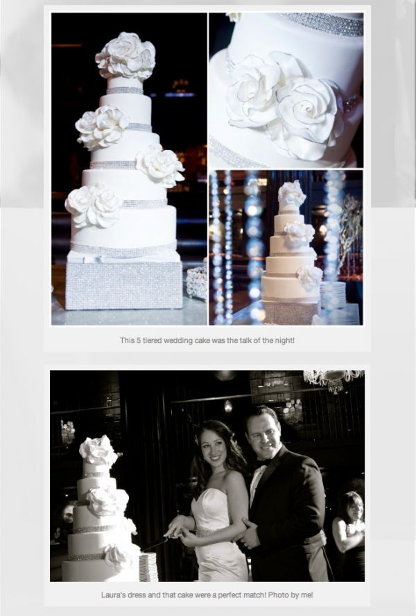A look back at Laura & Adam's wedding at the Hard Rock Hotel Las Vegas. Photos by Deidra Wilson.