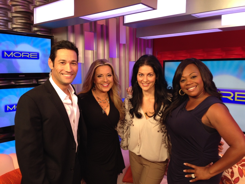 With my MORE Fox 5 Family - I love that I get to be their early morning wedding planner!