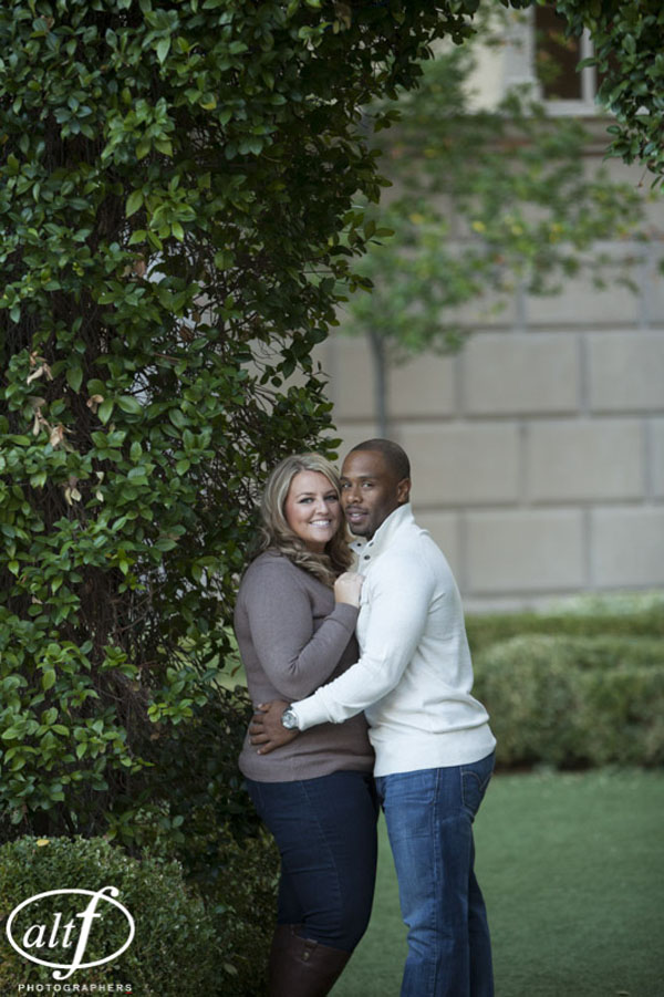 Hayley & Bryan's Lake Las Vegas engagement session by Altf Photography.
