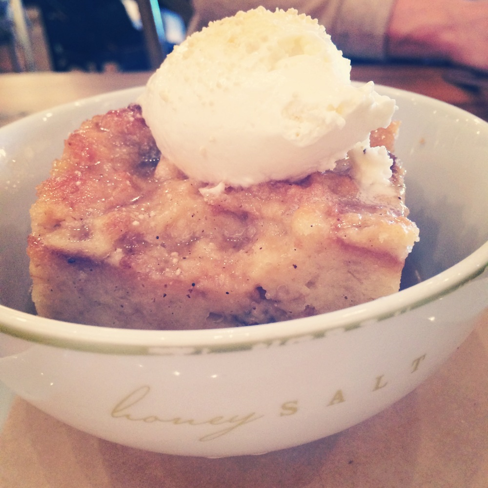 Bread Pudding at Honey Salt Las Vegas