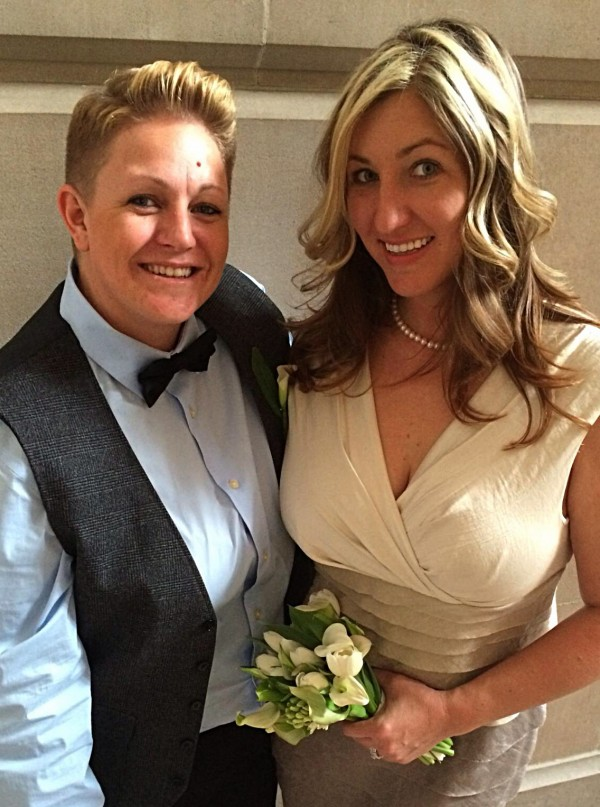 Erin & Angela - Married in San Francisco in February 2014.