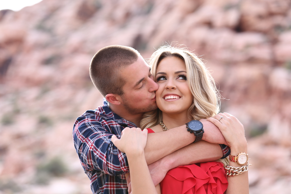 High School Sweethearts - Engaged at last! Photo by Corey Malden for ImagoDei127Photography.