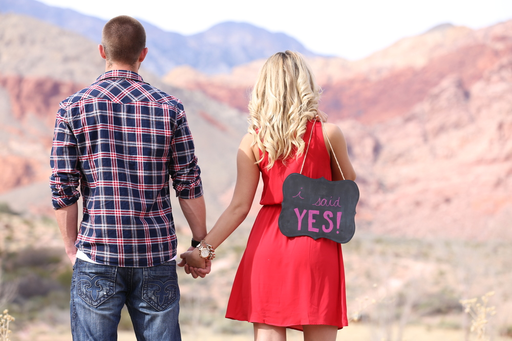 She said YES! Of course...Photo by Corey Malden for ImagoDei127Photography.