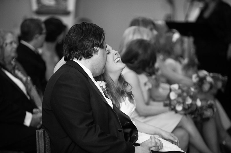 What a great candid moment caught during their ceremony.  Ann looks so joyful!  Photo Credit: www.altf.com