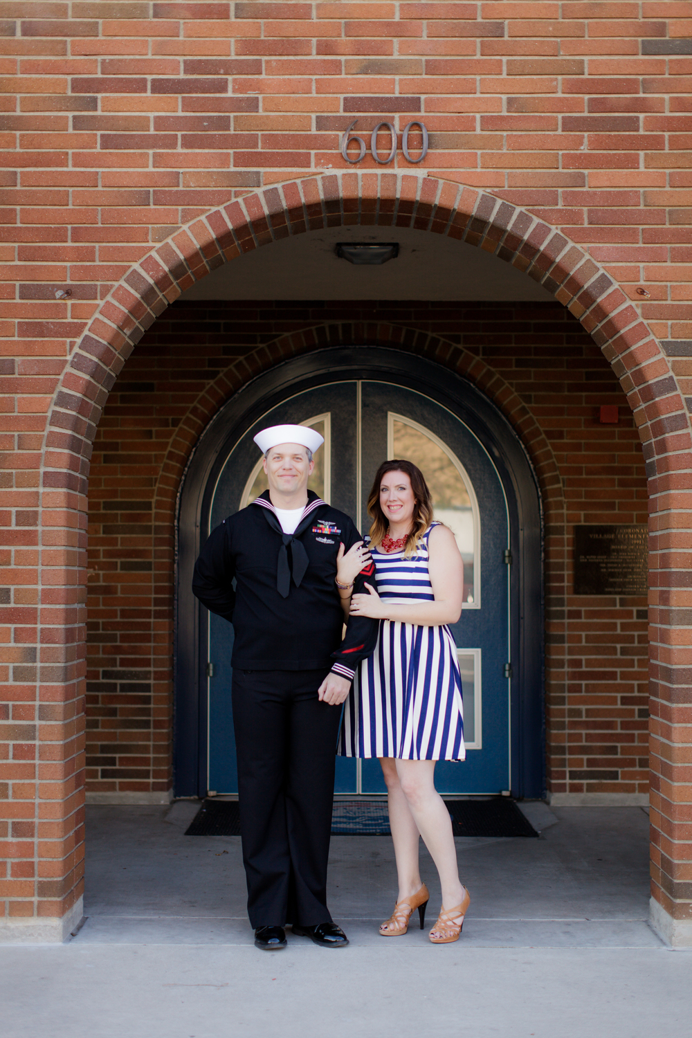 This summer, Dr. Amanda Cohen will marry her love, one of the Navy's finest, Phillip Safarik, at a beachside wedding on Coronado Island.
