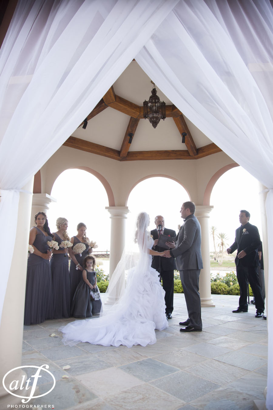 Lake Las Vegas Wedding Ceremony