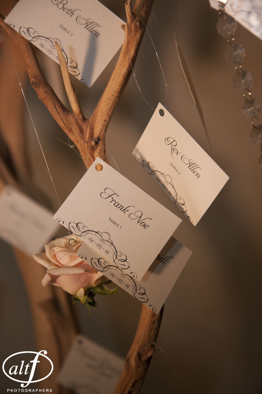 Escort Cards by Paper & Home