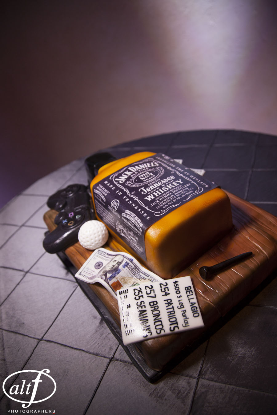 The Bad Boy Groom's Cake
