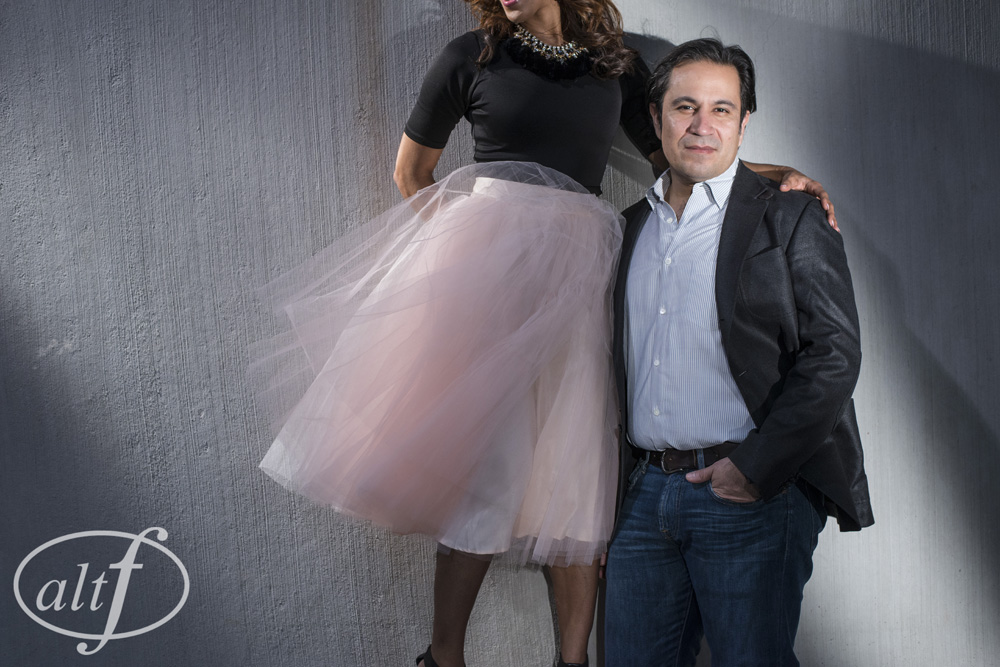 Jess had this pink tulle skirt made without knowing when and where she would wear it, only that she felt as if you can only rock a tulle skirt when you are about to be a bride!      Engagement Photo by  Altf Photography  | Las Vegas Wedding Planner  Andrea Eppolito Events.