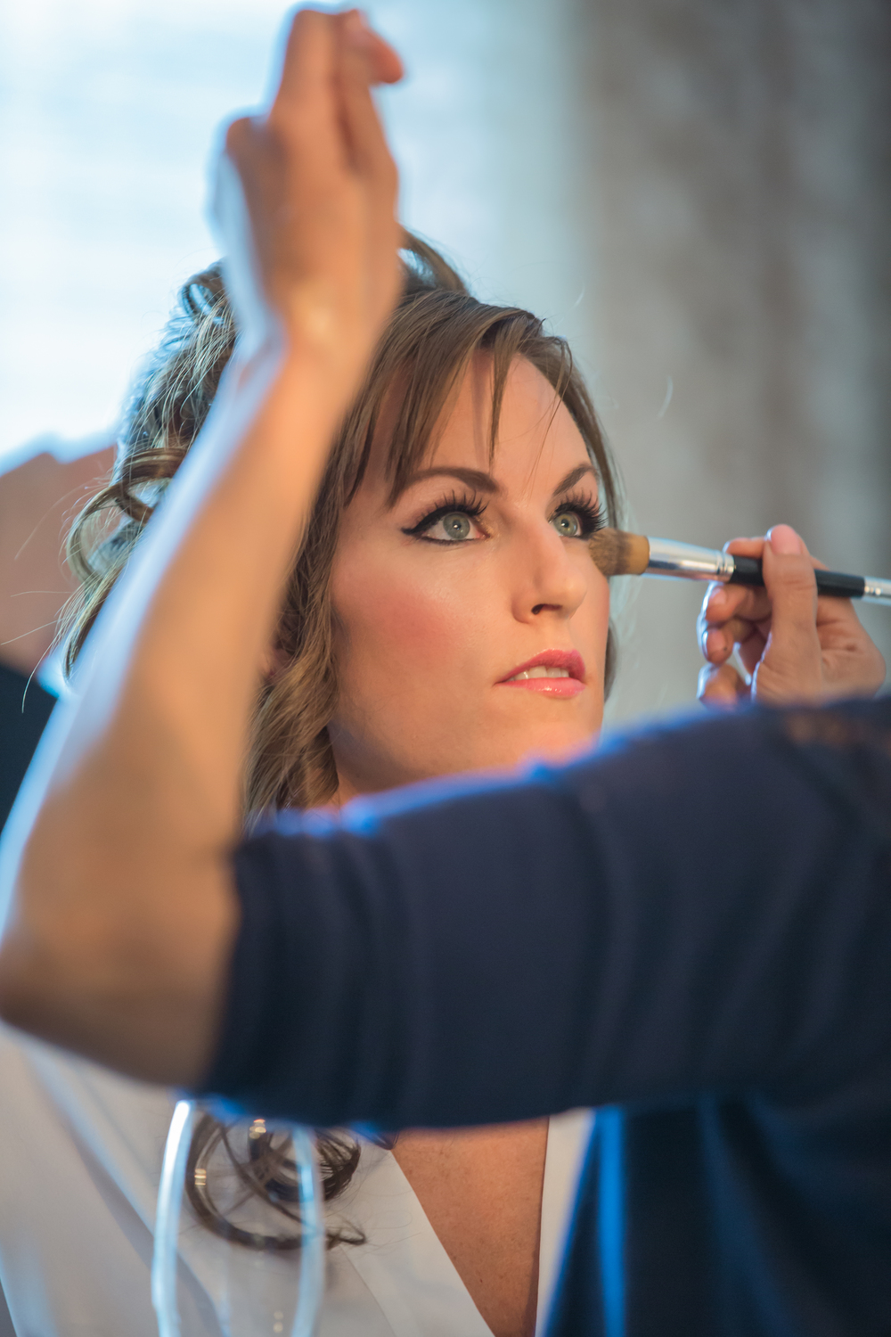 Michelle in Make Up! Las Vegas Wedding at Siena Golf Club  |  Photography by Ella Gagiano  |  Las Wedding Planner Andrea Eppolito