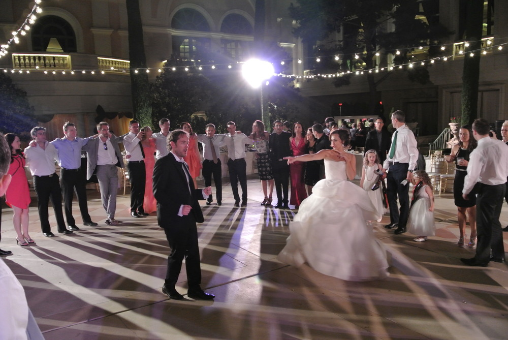And the party goes on!   Las Vegas Wedding Planner Andrea Eppolito  |  Wedding at Bellagio Las Vegas