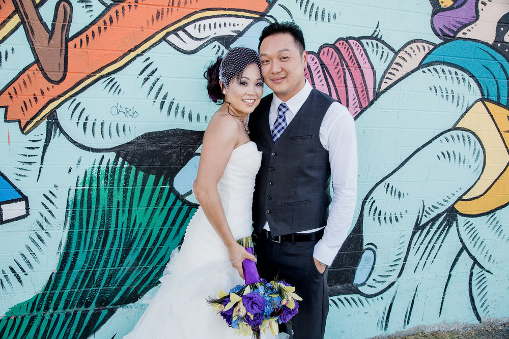 Pop Art Wedding Pictures.