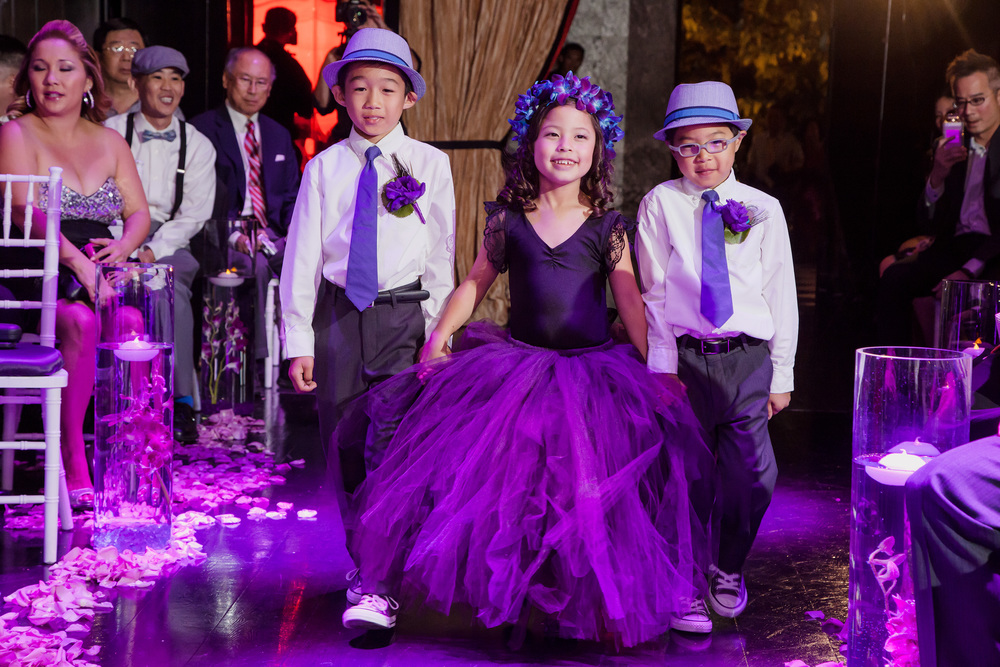 I love kids at a wedding...And these littles had so much style it was insane!