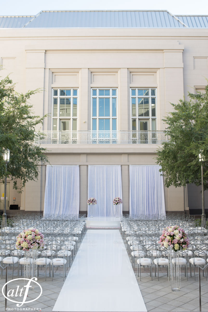 Wedding Ceremony at The Smith Center.