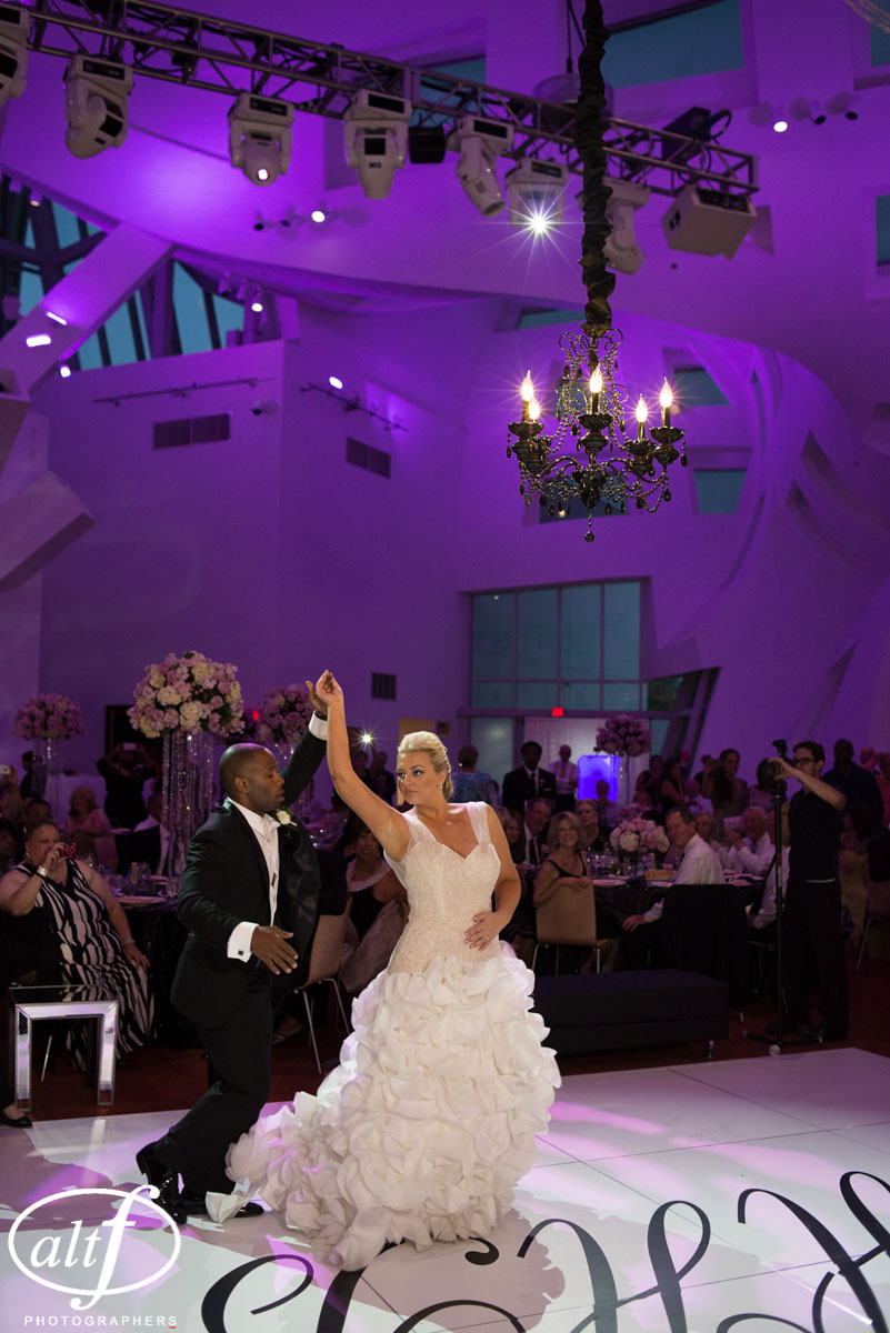 The Bride & Groom's first dance was to Justin Timberlake's Mirrors.
