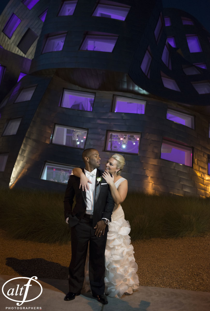 Wedding at KMAC Las Vegas.  Luxury Wedding Planner Andrea Eppolito shared Alt F Wedding Portraits of Bryan and Hayley Heard.