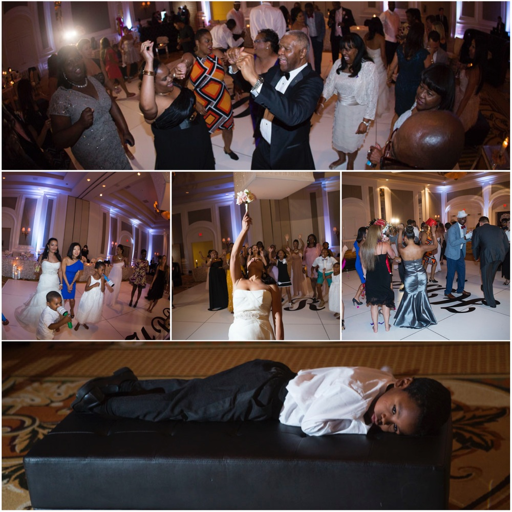 Dance party at The Four Seasons Las Vegas by Wedding Planner Andrea Eppolito.