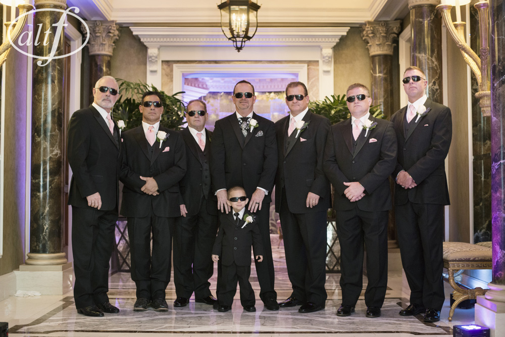 The Groomsmen in Black