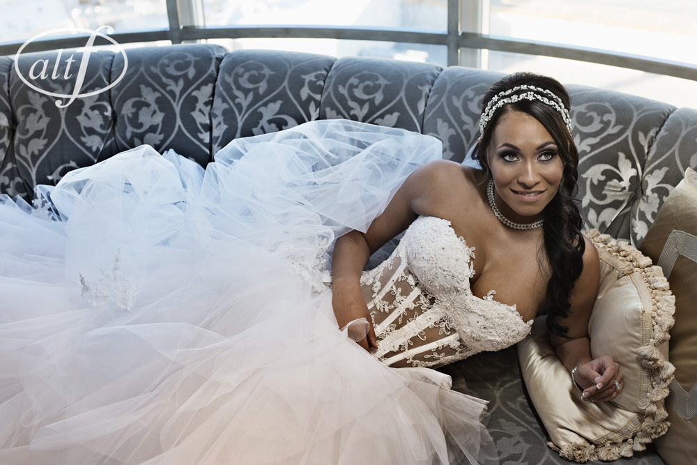 The Bride in P'Nina Tornai