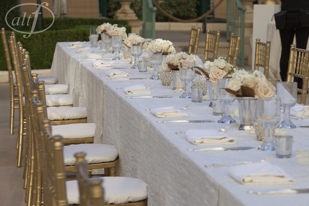 Long Banquet Tables