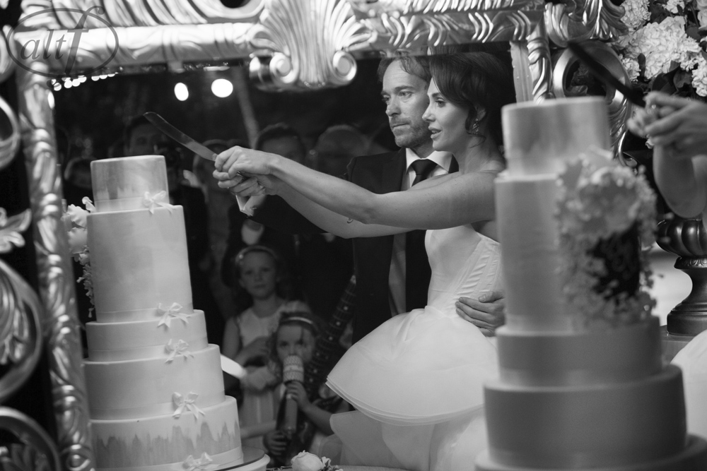 The Mirror Image of the Cake