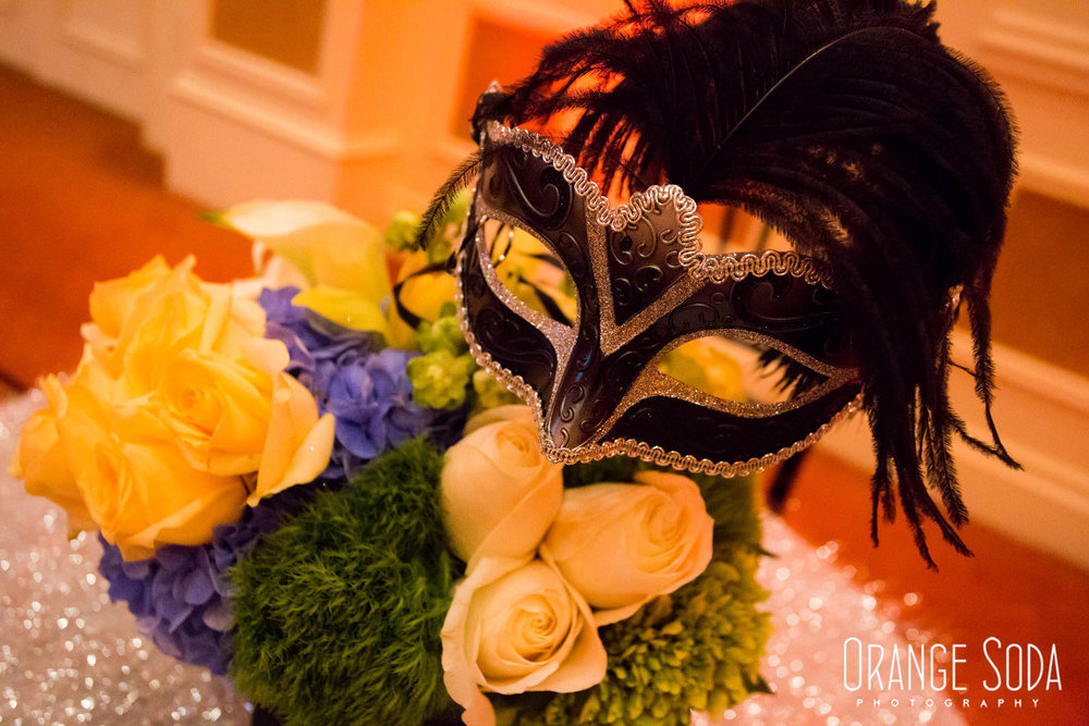 WIPA Las Vegas Cocktail Hour at The Venetian - Masquerade Theme. Speaker Wendy Dahl  |  Las Vegas Wedding Planner Andrea Eppolito  |  Orange Soda Photography