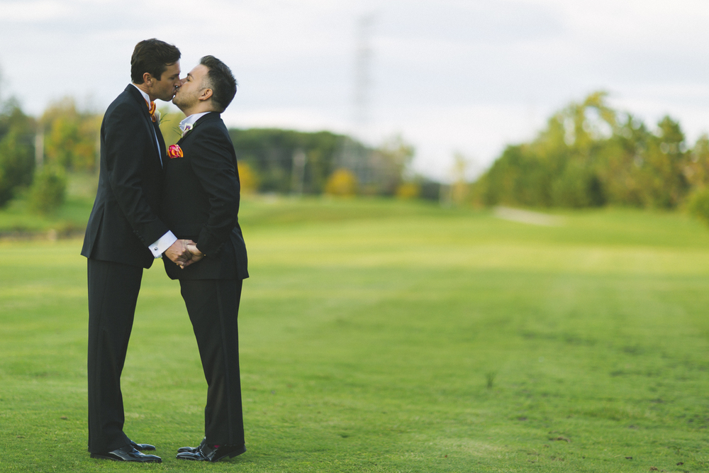 Husband and Husband - Welcome to Rocco And Marek's Big Fat Mexican Polish Gay Wedding!   Destination Wedding Planner Andrea Eppolito  |  Photo by Antonio Abrego | Gay Weddings