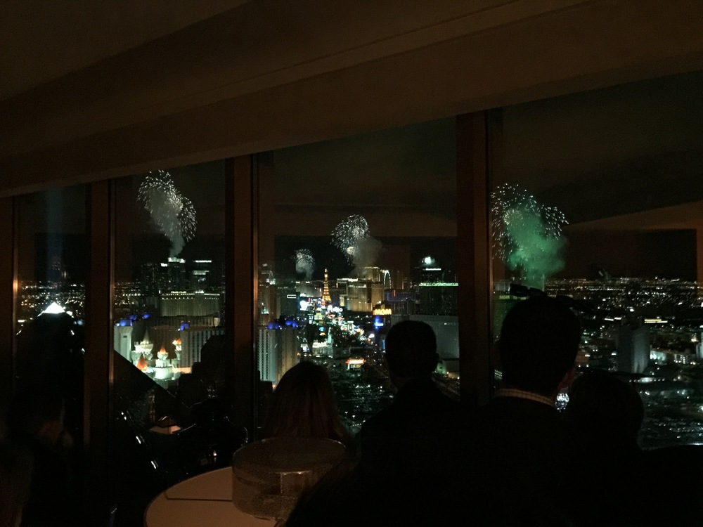 The view from The Presidential Suite - Not a better spot in the world to watch the fireworks from!  Photo by Andrea Eppolito.