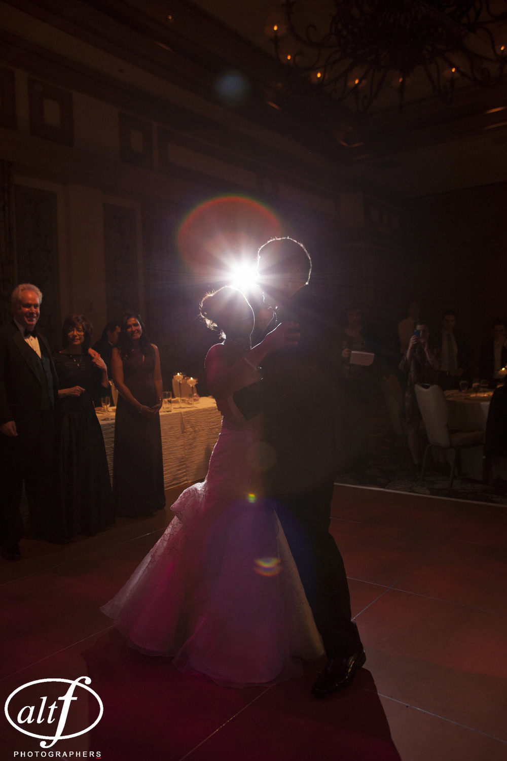 First Dance.  Las Vegas Wedding Planner Andrea Eppolito  |  Wedding at Bellagio  |  Photo by Alt F